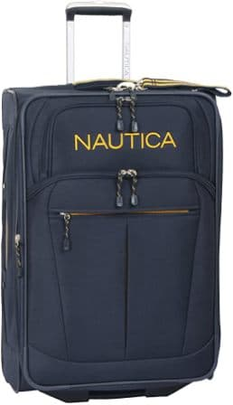 28-inch expandable luggage by Nautica