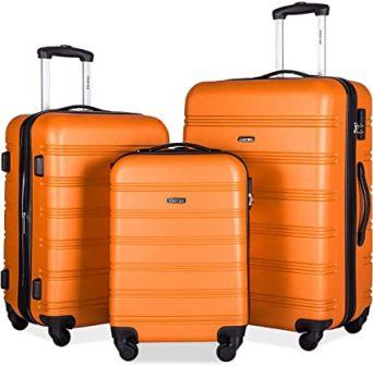 Merax 3 Piece Travelhouse Luggage Set