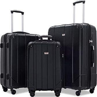 Merax 3-piece P.E.T Eco-friendly Luggage Set