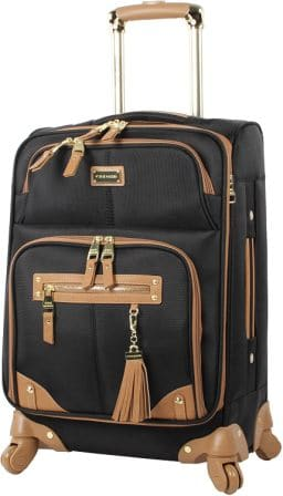 Steve Madden Carry On Bag with 20% Additional Storage Space