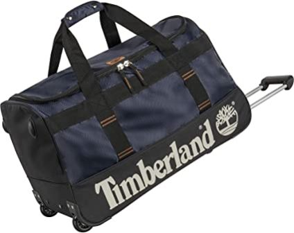 Timberland Carry on Bag with Pushbutton Trolley handle