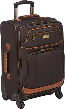 """Tommy Bahama 360-Degrees Spinning Wheels 20"""" Travel Bag"""