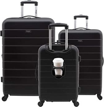 Wrangler El Dorado Convenient Carry on Bag with Cup Holder and USB Port