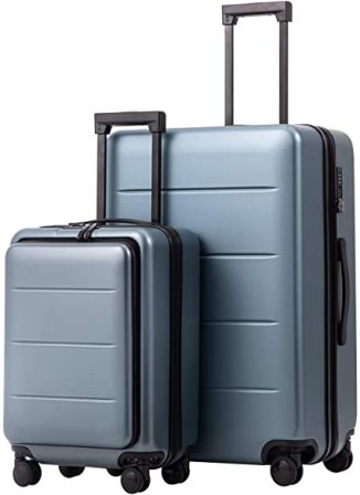 COOLIFE – Spinner Luggage – 2-Piece
