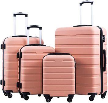 COOLIFE Spinner Hardshell Luggage Set
