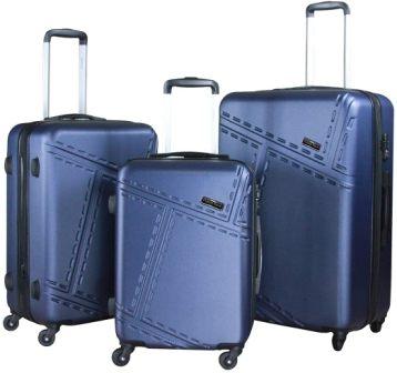 Hybrid & Company LUG3-SK0040 3-Piece Luggage Set