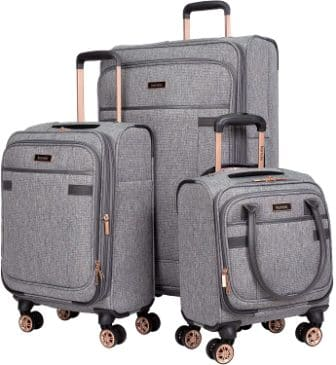 Kensie Hudson series 3 Piece Luggage Set