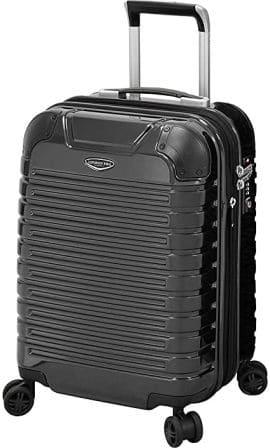 "London Fog Dover 20"" Hard-side Spinner Suitcase"