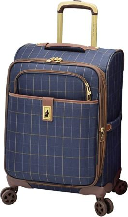 """London Fog Sheffield Collection 20"""" Spinner Suitcase"""