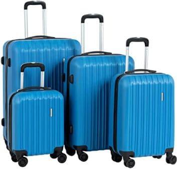 Murtisol Lightweight Durable Spinner Suitcase