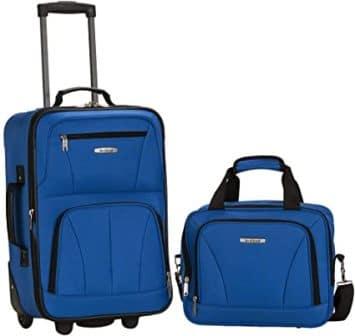 Rockland – Softside Upright Luggage Set