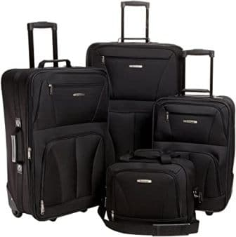 Rockland Journey Upright Luggage Set