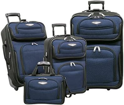 Travel Select Expandable Rolling Upright Luggage