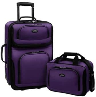 U.S. Traveler – Rio Expandable Luggage Set