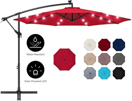 Best Choice Products Day and Night Patio Umbrella