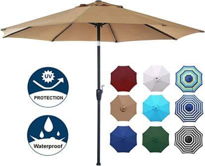 Blissun Modern & Versatile Market Umbrella