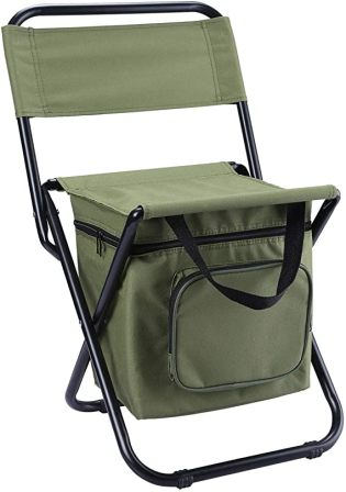 Leadallway Foldable Backpack Chair