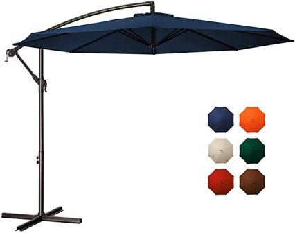 MEWAY Patio Umbrella for All-Year Round Shade