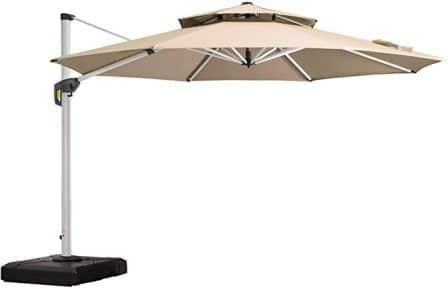 PURPLE LEAF High-Quality Fade-Resistant & water-Repellent Sunbrella