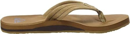 Quiksilver Men's Carver Suede Flip Flop Sandal