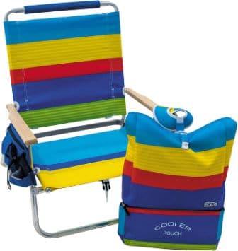 RIO Beach 4-Position Easy In-Easy Out Folding Beach Chair