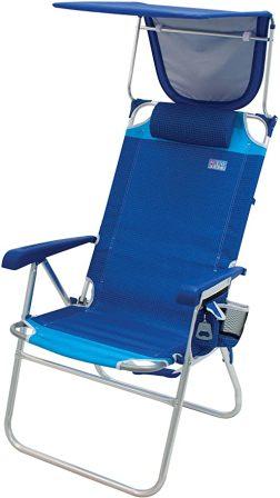 RIO Beach Hi-Boy 17″ Extended Seat Height Beach Chair