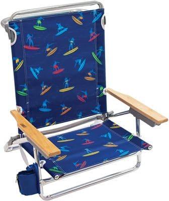 Rio Beach Classic 5-Position Folding Beach Chair (Top Pick)