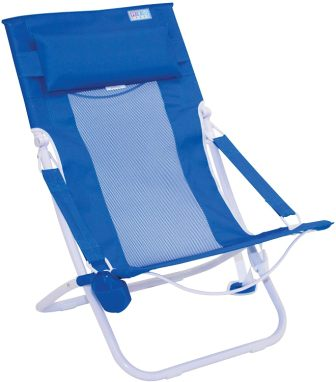 Rio Beach Portable Compact-Fold Breeze Sling Chair