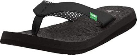 Sanuk USA-Made Women's Sandals with Yoga Mat Foot-Bed
