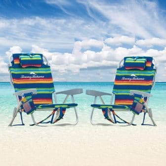 Tommy Bahama 5-Position Solid Beach Chair